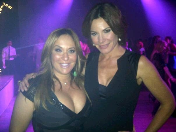 Barbara Kavovit with Luann de Lesseps