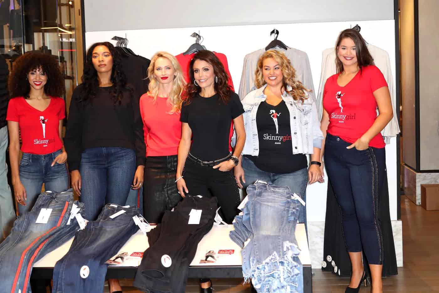 Bethenny Frankel Skinngirl Jeans Launch