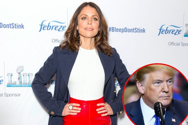 RHONY's Bethenny Frannkel talks being snubbed by President Trump