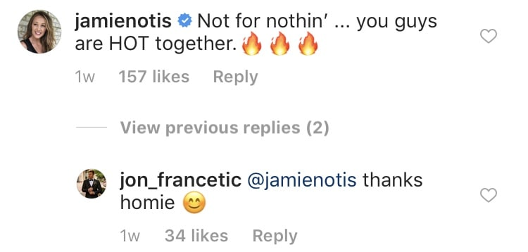 Jon Francetic Confirms He's Dating Dr. Jessica Griffin