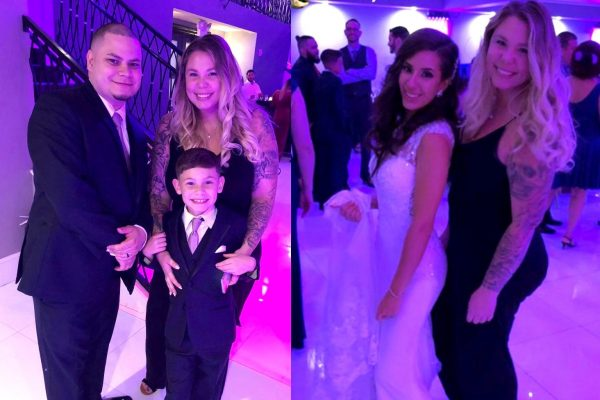 Teen Mom 2's Kailyn Lowry attends Jo Rivera and Vee Torres Wedding