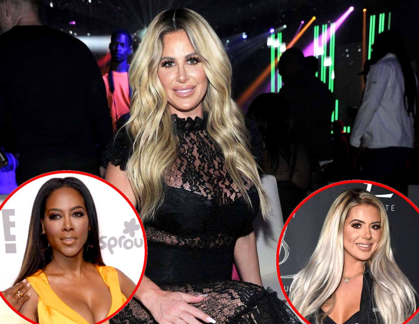 RHOA Kim Zolciak talks Kenya Moore and Brielle Biermann