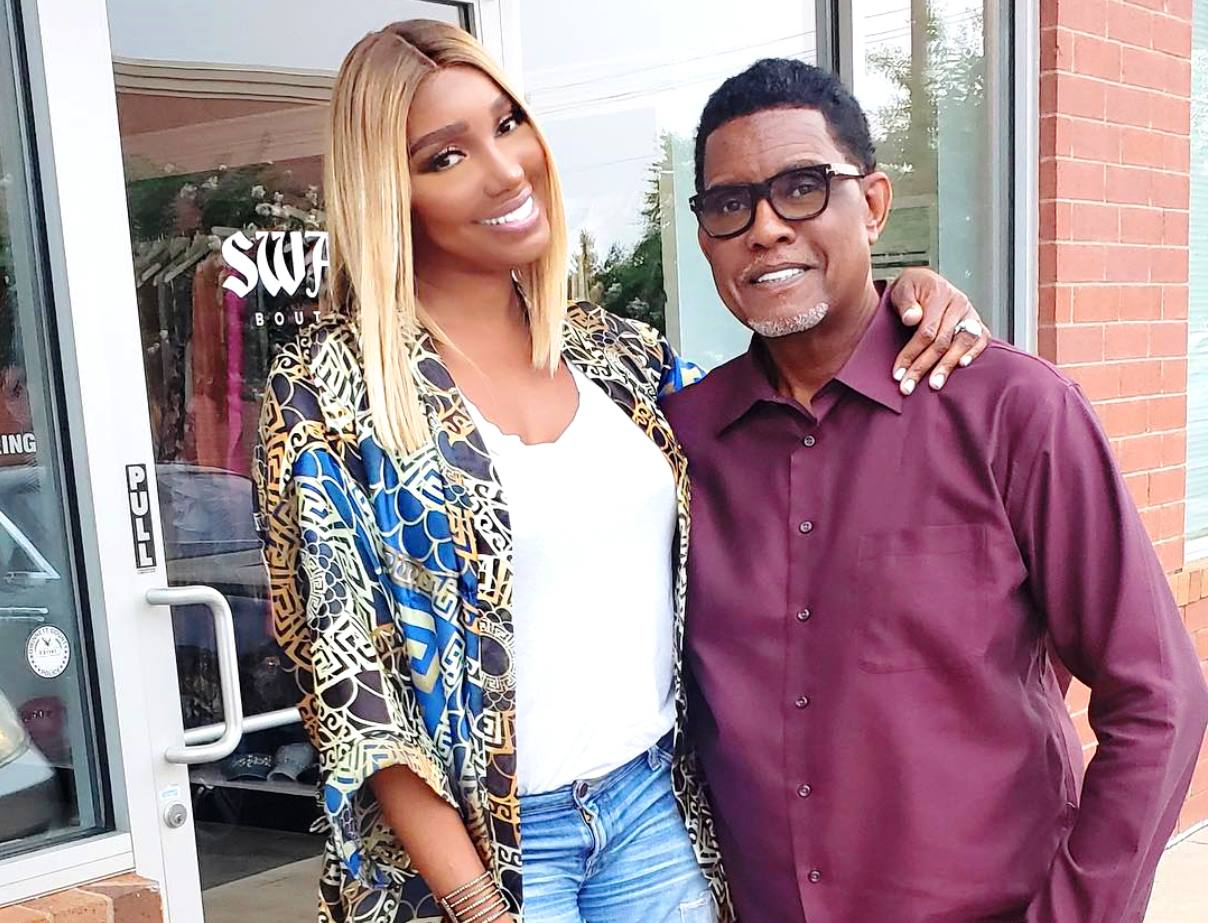 RHOA's Nene Leakes Shares Gregg Leakes Cancer Update