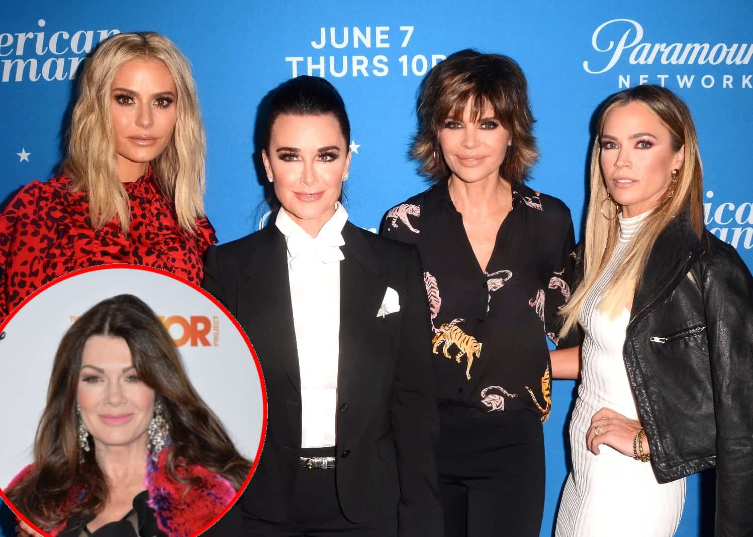 RHOBH Lisa Rinna accuses Lisa Vanderpump of acting like a diva