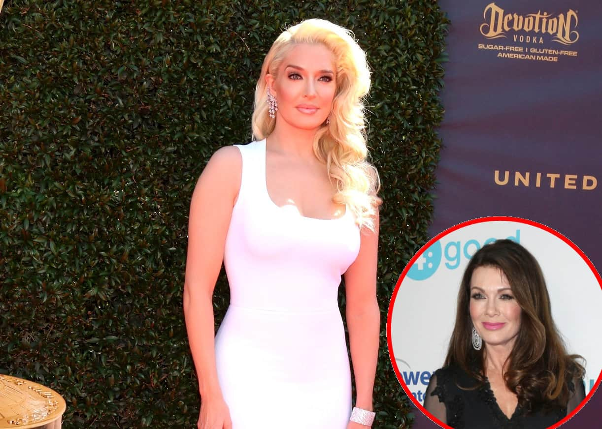 RHOBH Erika Jayne talks Lisa Vanderpump photoshoot drama