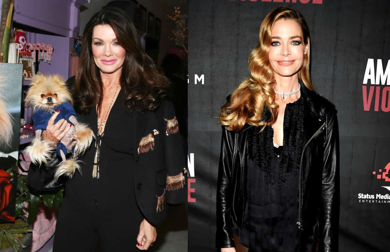 RHOBH Lisa Vanderpump vs Denise Richards