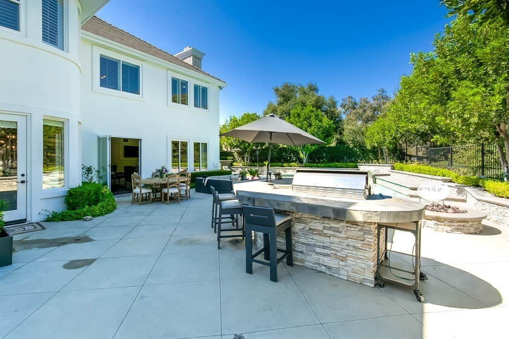 Tamra Judge New Home Pictures Backyard