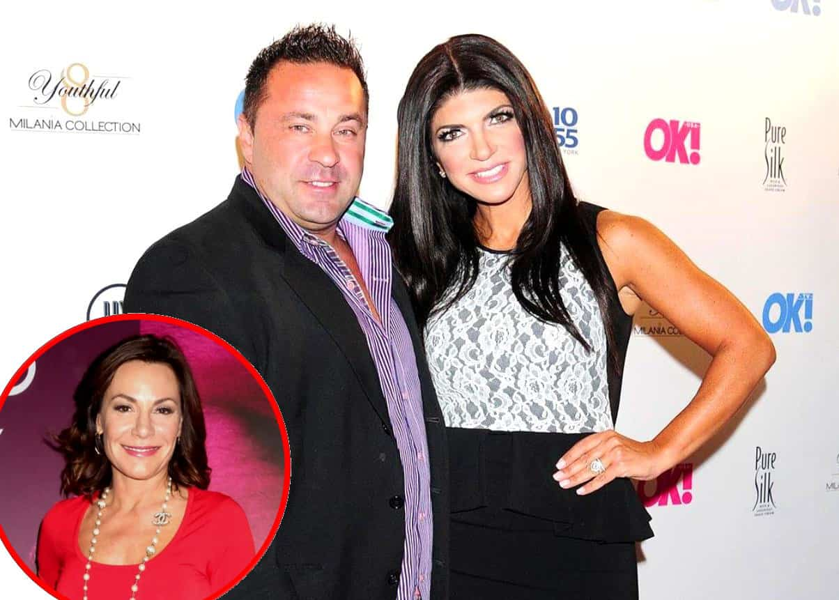 RHONJ Teresa Giudice talks divorce Joe Giudice plus Luann de Lesseps