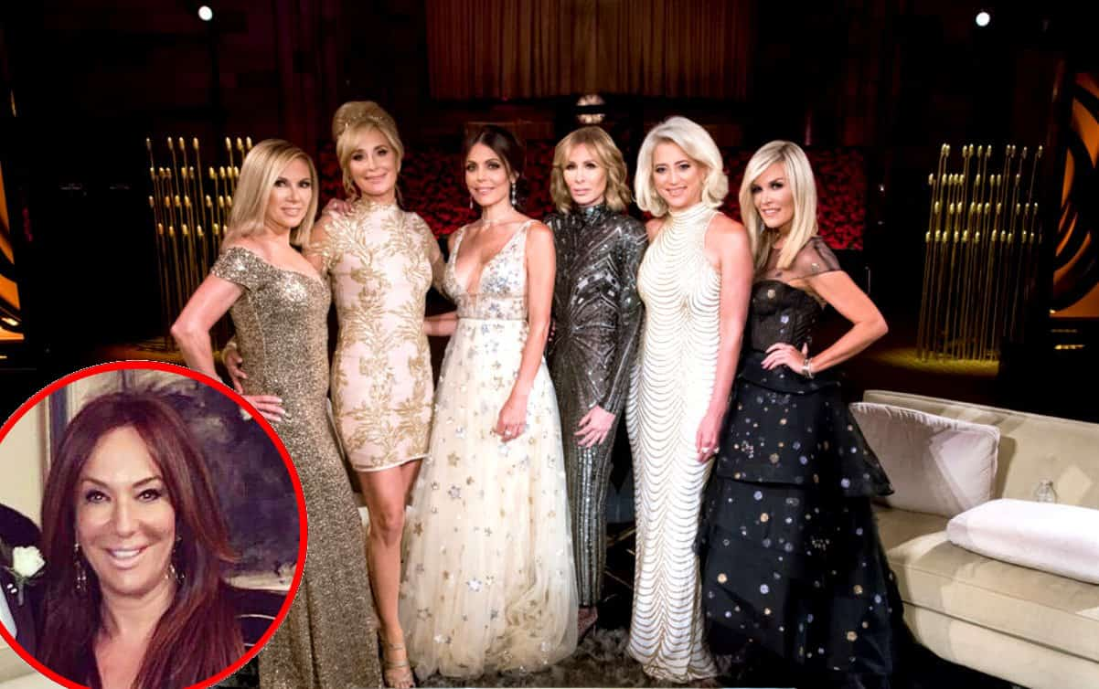 The Real Housewives of New York City cast and Barbara Kavovit