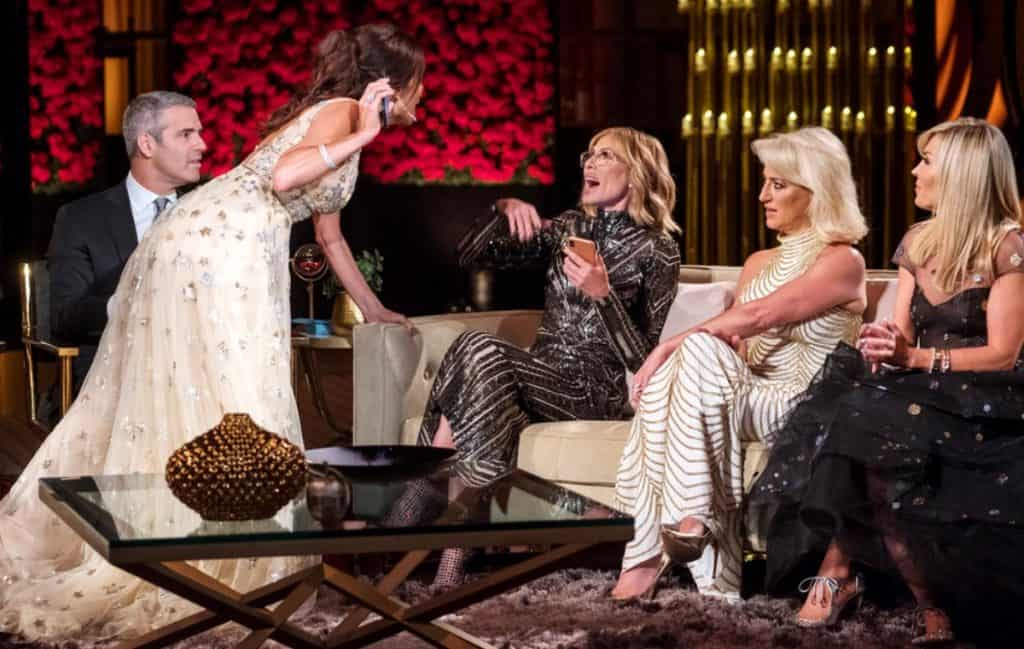 The Real Housewives of New York City reunion Bethenny lunges at Carole