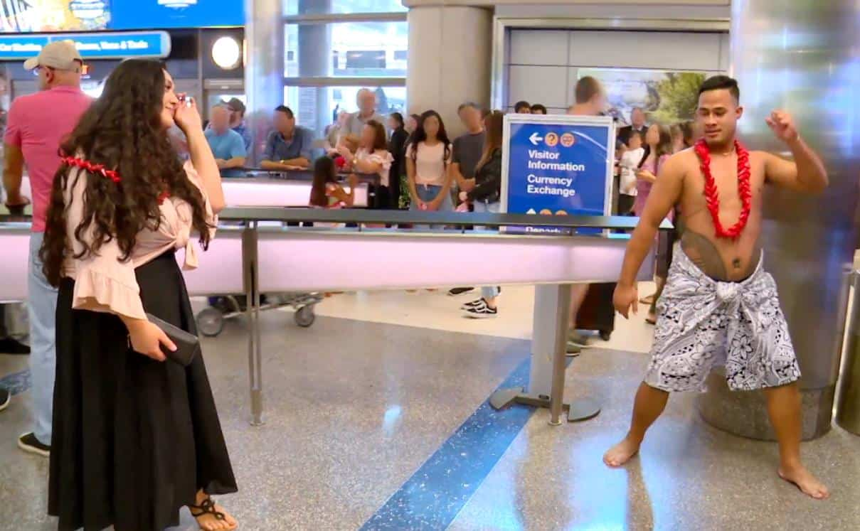 90 Day Fiance Recap Young and Restless Kalani and Asuelu airport dance