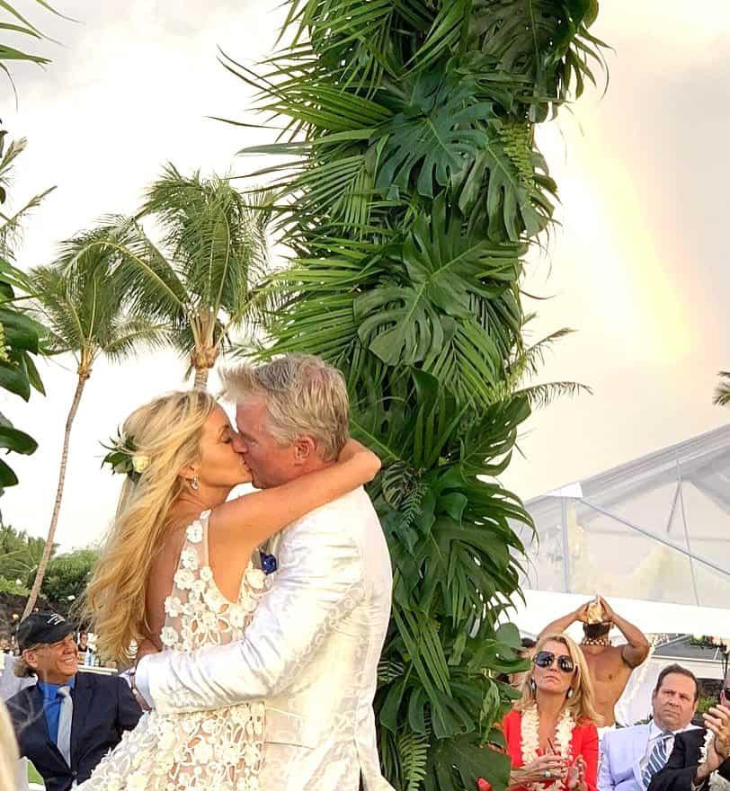 Camille Grammer and David C. Meyer wedding