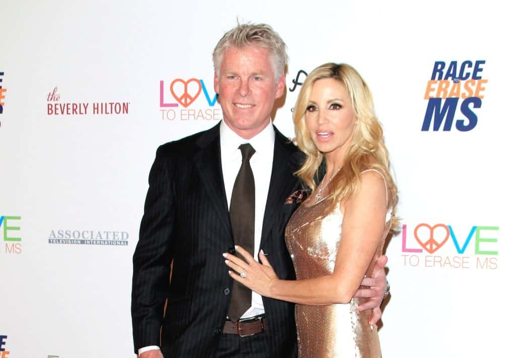 Camille Grammer responds to claims Husband David Meyer is Demanding She Quit RHOBH