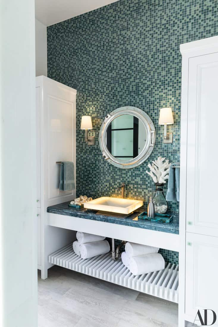 Heather Dubrow master bathroom
