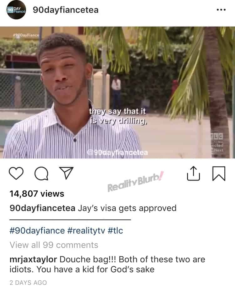 Pump Rules Jax Taylor Disses 90 Day Fiance's Jay