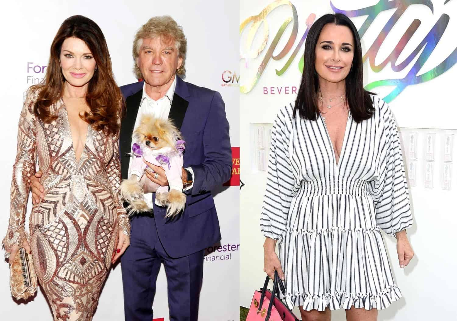 RHOBH Lisa Vanderpump and Ken Todd feud with Kyle Richards