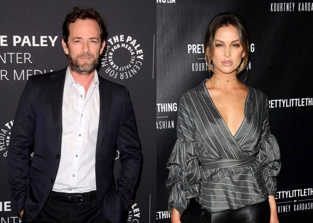 Luke Perry Doesn't Remember Kissing Vanderpump Rules' Lala Kent