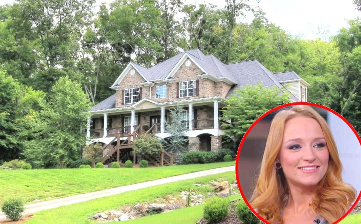 Maci Bookout New Home Photos