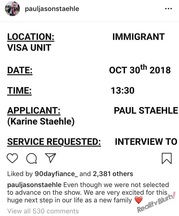 Paul says TLC fired him from 90 day fiance