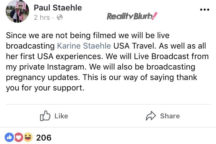 Paul talks new show with Karine