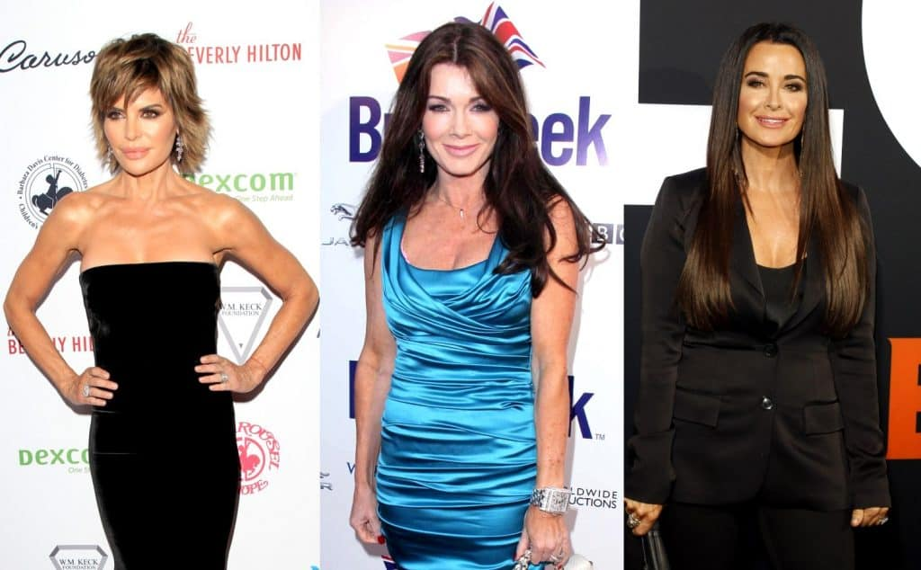 RHOBH Lisa Rinna and Kyle Richards call out Lisa Vanderpump