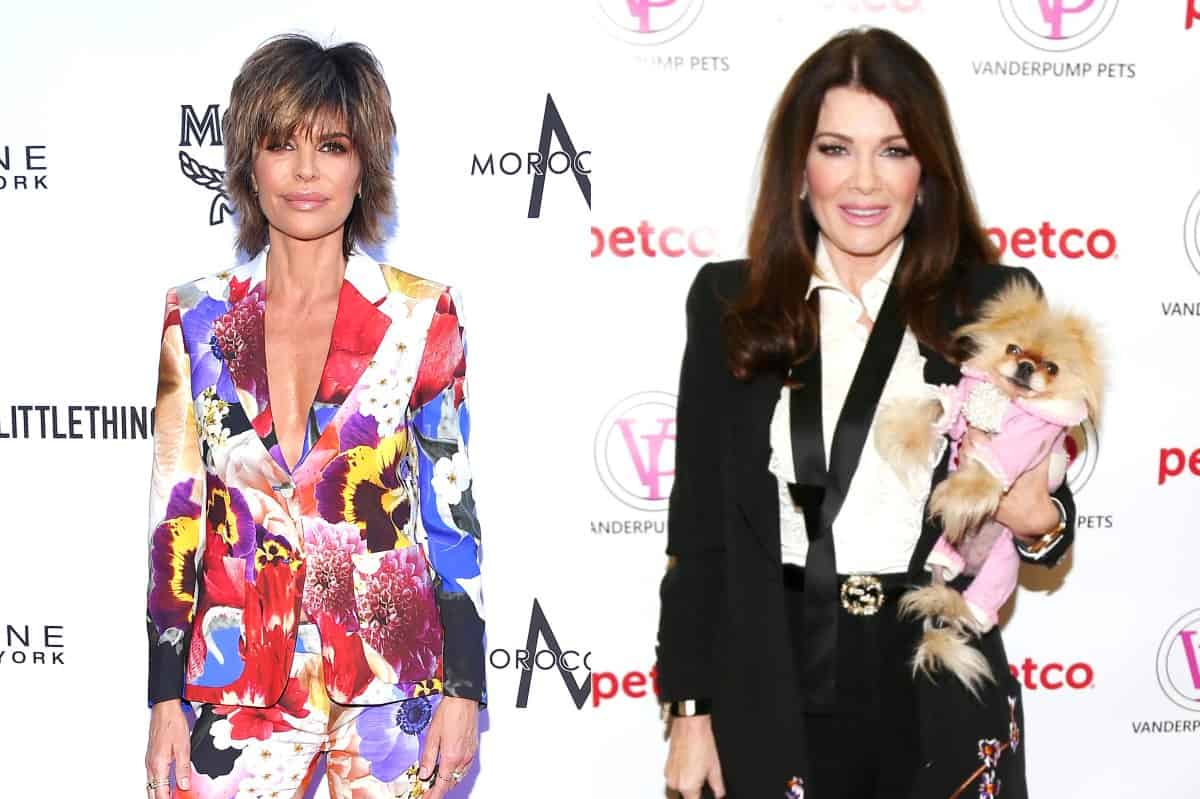 RHOBH Lisa Rinna and Lisa Vanderpump