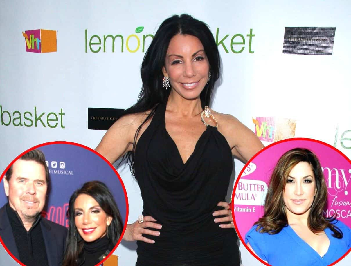 RHONJ Danielle Staub Talks Marty Caffrey and Jacqueline Laurita