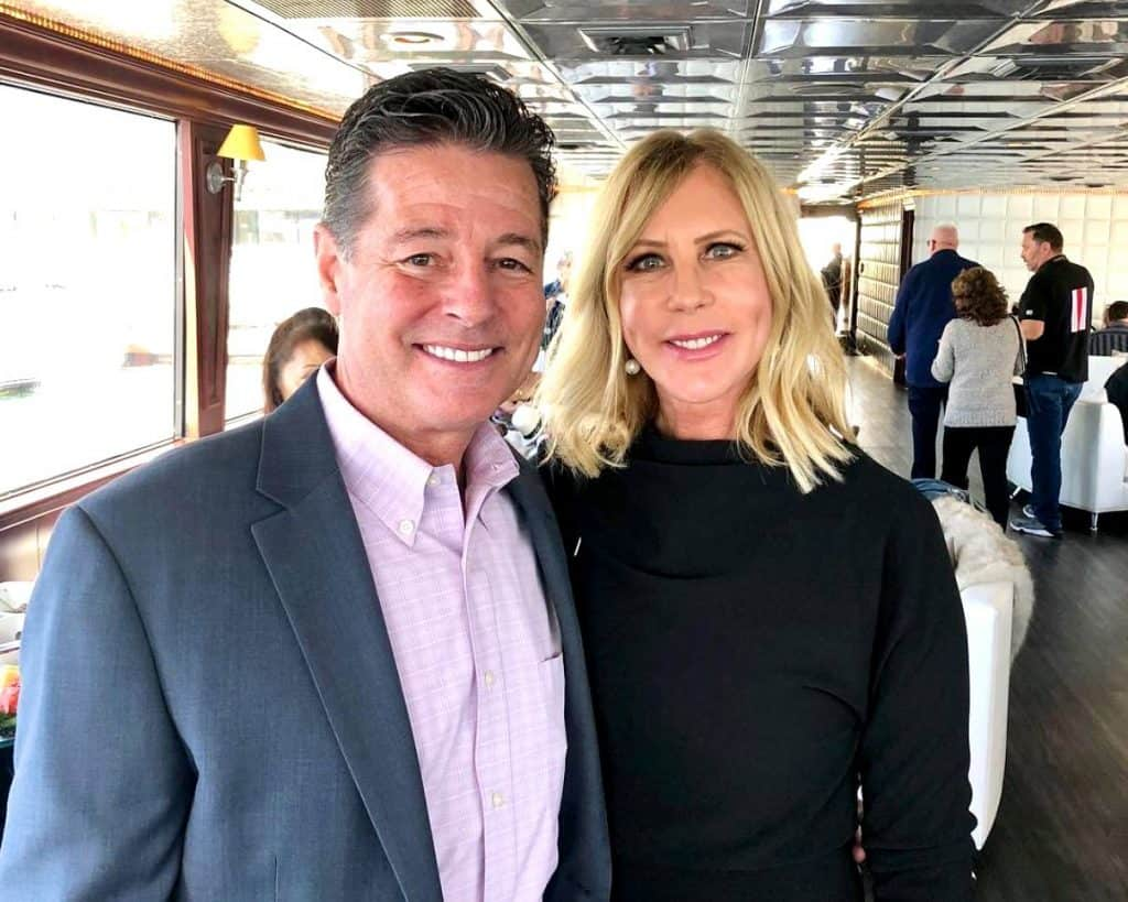 Was Vicki Gunvalson's Engagement To Boyfriend Steve Lodge Filmed for RHOC? Plus Vicki Celebrates Engagement with Briana and Wedding Plans Details