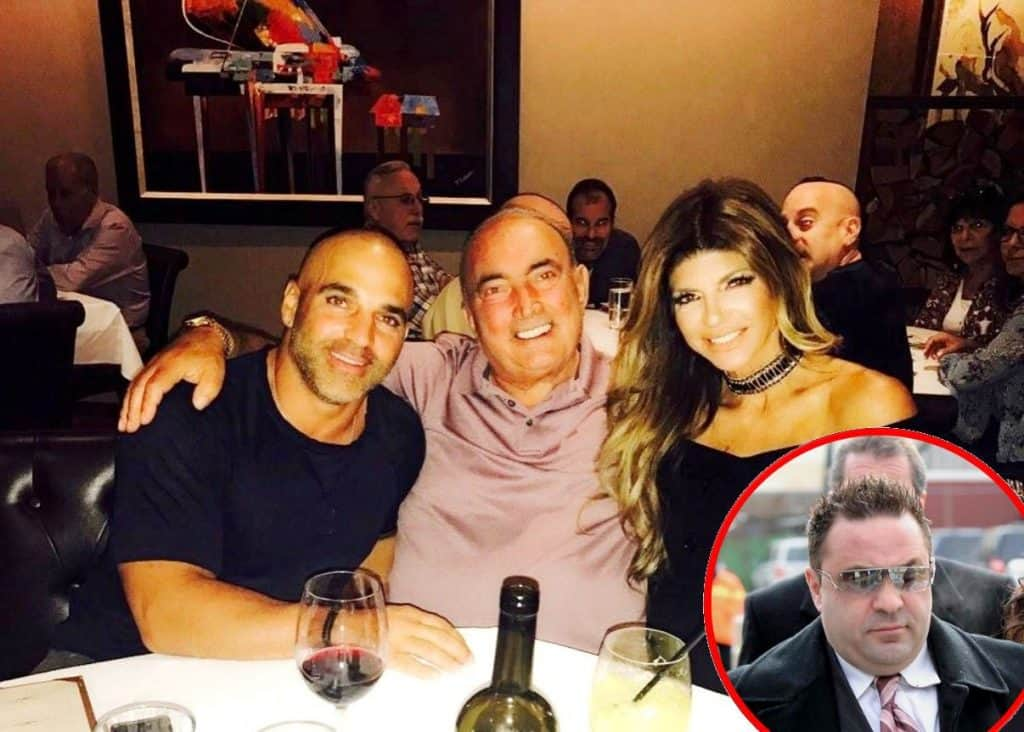 RHONJ Teresa Giudice and Joe Gorga dad Giacinto Gorga hospitalized