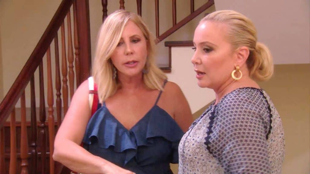 The Real Housewives of Orange County Recap The Day After - Vicki and Shannon