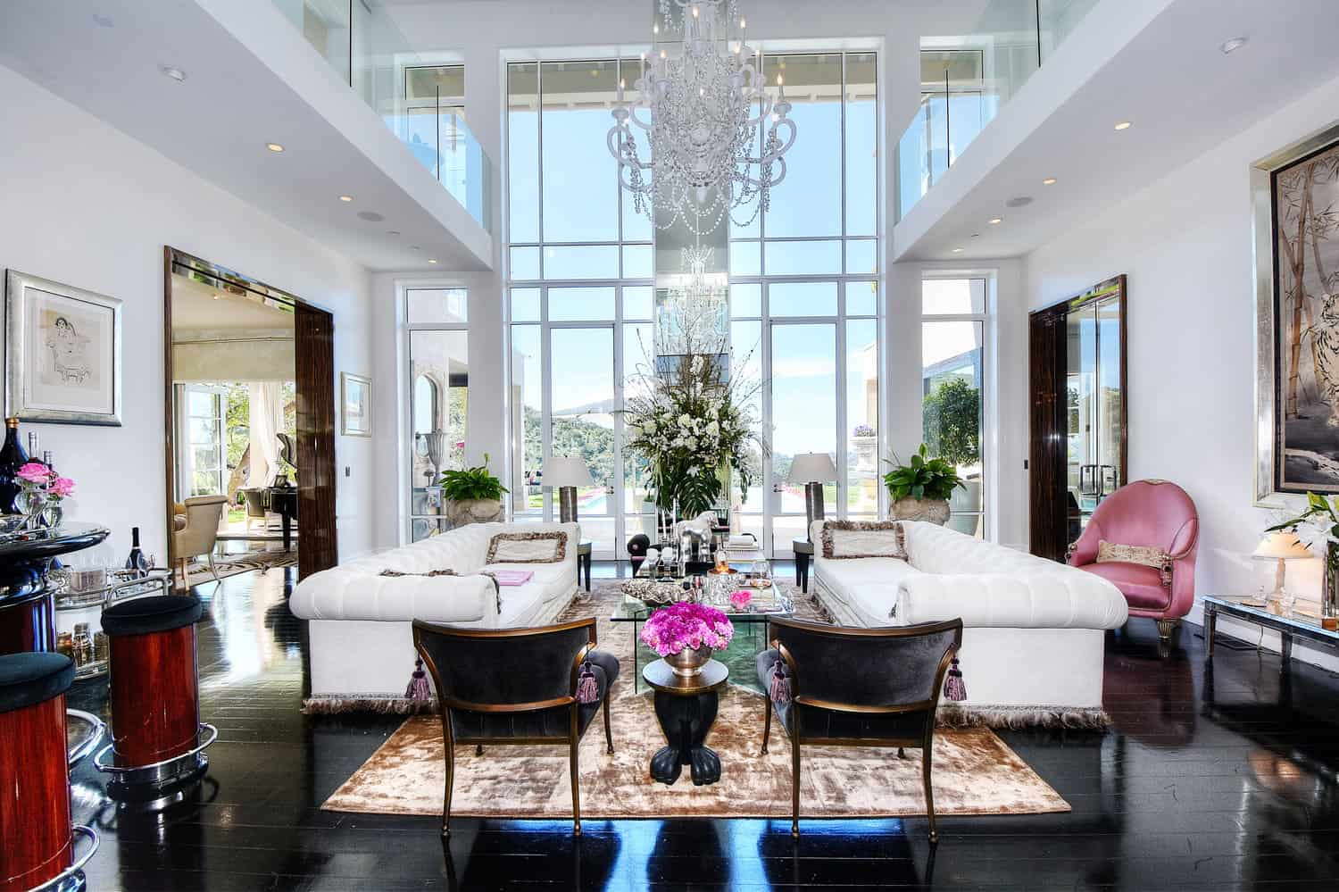Lisa Vanderpump Villa Rose Living Room