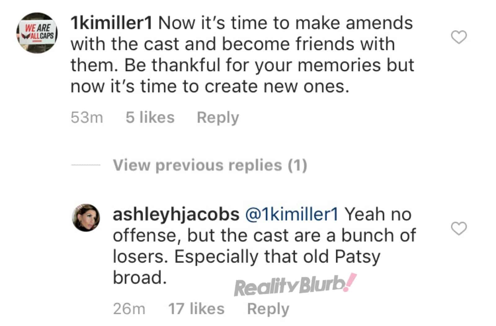 Ashley Jacobs Slams Southern Charm Cast As Losers