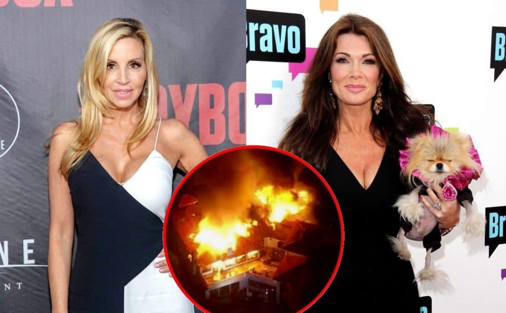 Rhobh Star Camille Grammer S Home Burns Down In Malibu