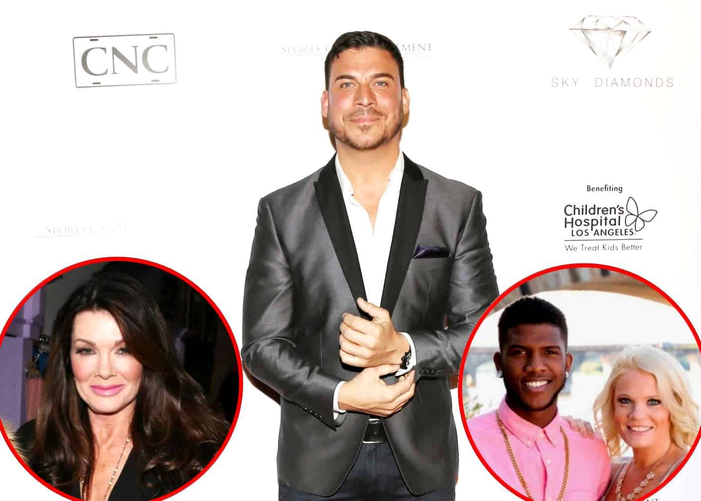 Jax Taylor plus Lisa Vanderpump and 90 Day Fiance cast