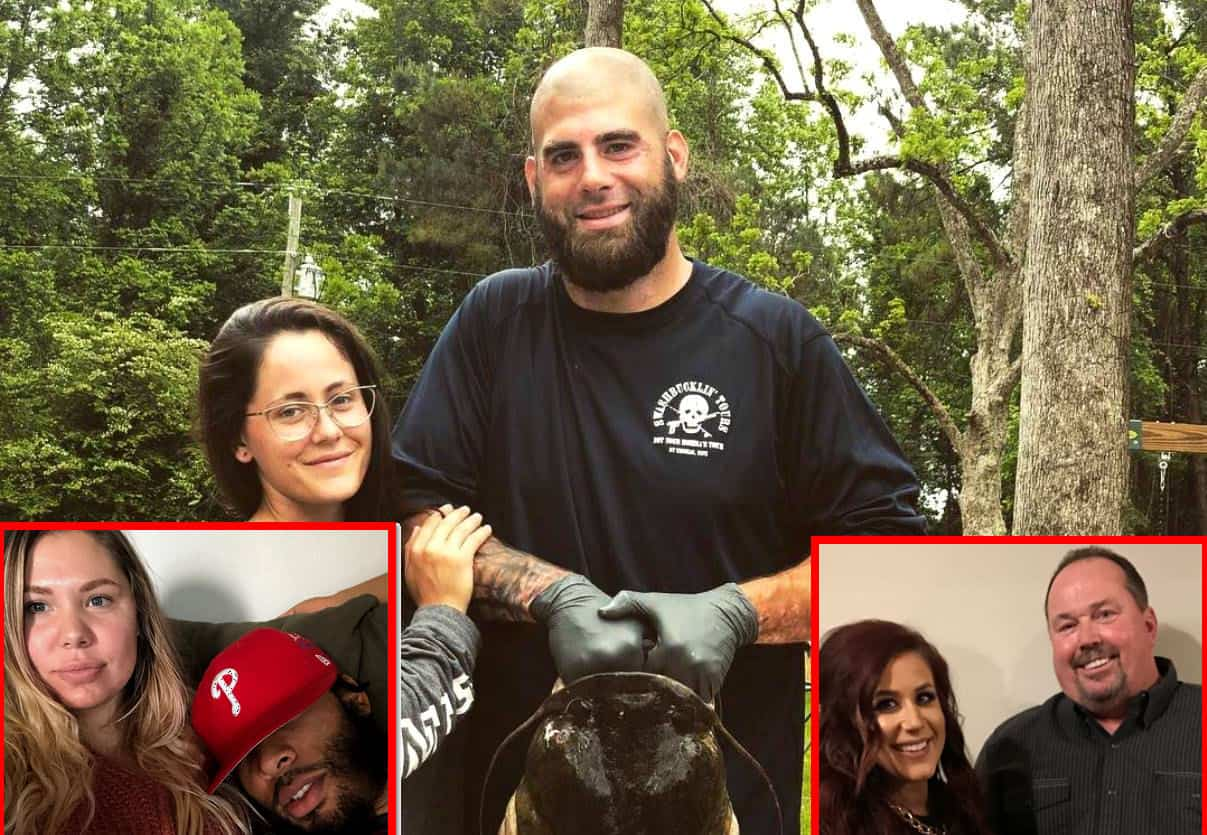 Teen Mom 2 Jenelle Evans husband David Eason attacks Kailyn and Randy