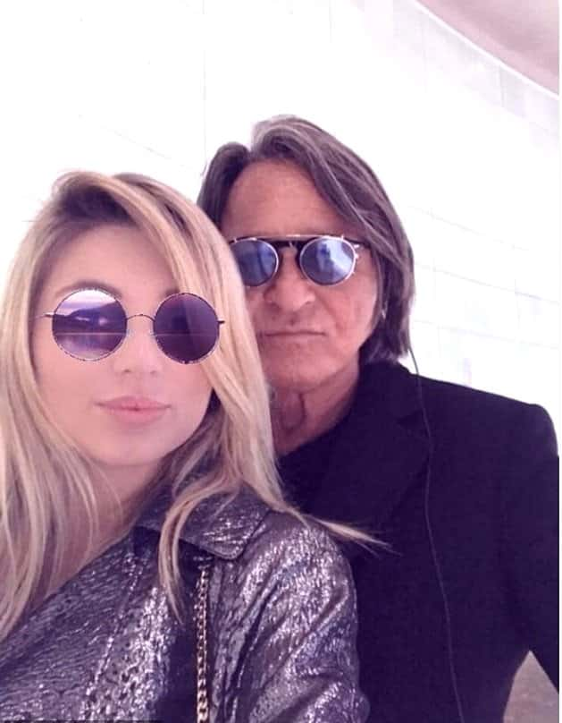 Justyna Monde and Mohamed Hadid photo