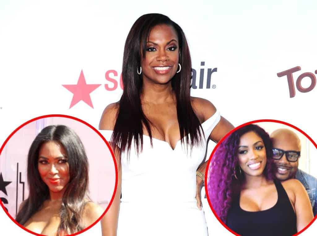 Kandi Burruss talks Kenya Moore RHOA Return and Porsha Williams