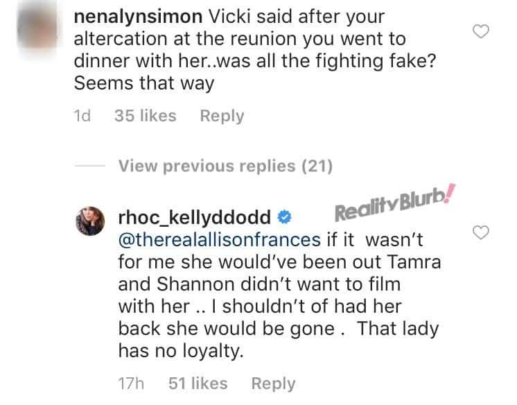 Kelly Dodd on saving Vicki's RHOC job