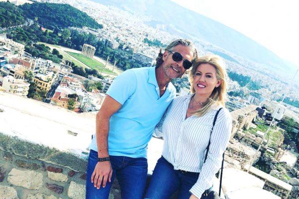 RHOC David Beador and Girlfriend Lesley Cook Vacation Engagement