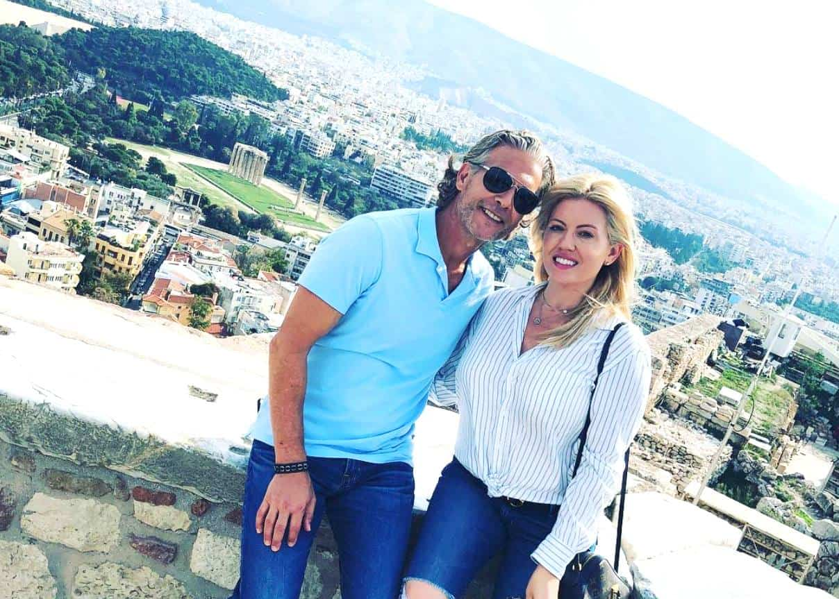 RHOC David Beador and Girlfriend Lesley Cook Vacation Engagement