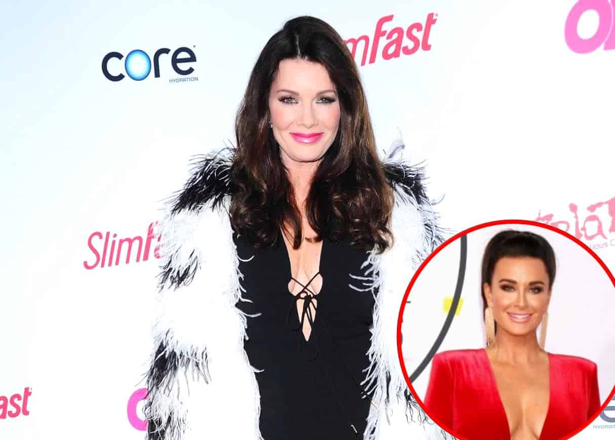 RHOBH Lisa Vanderpump Doesn't Believe Kyle Richards Misses Her