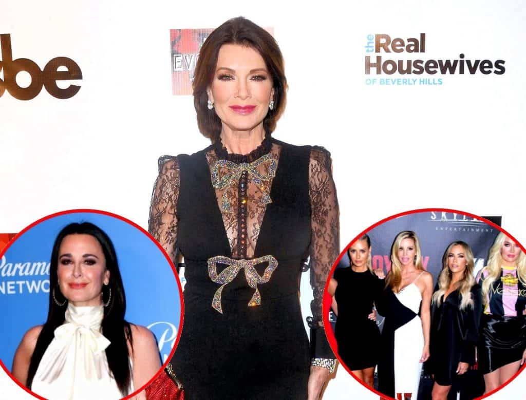 Lisa Vanderpump plus Kyle Richards and RHOBH Cast Update