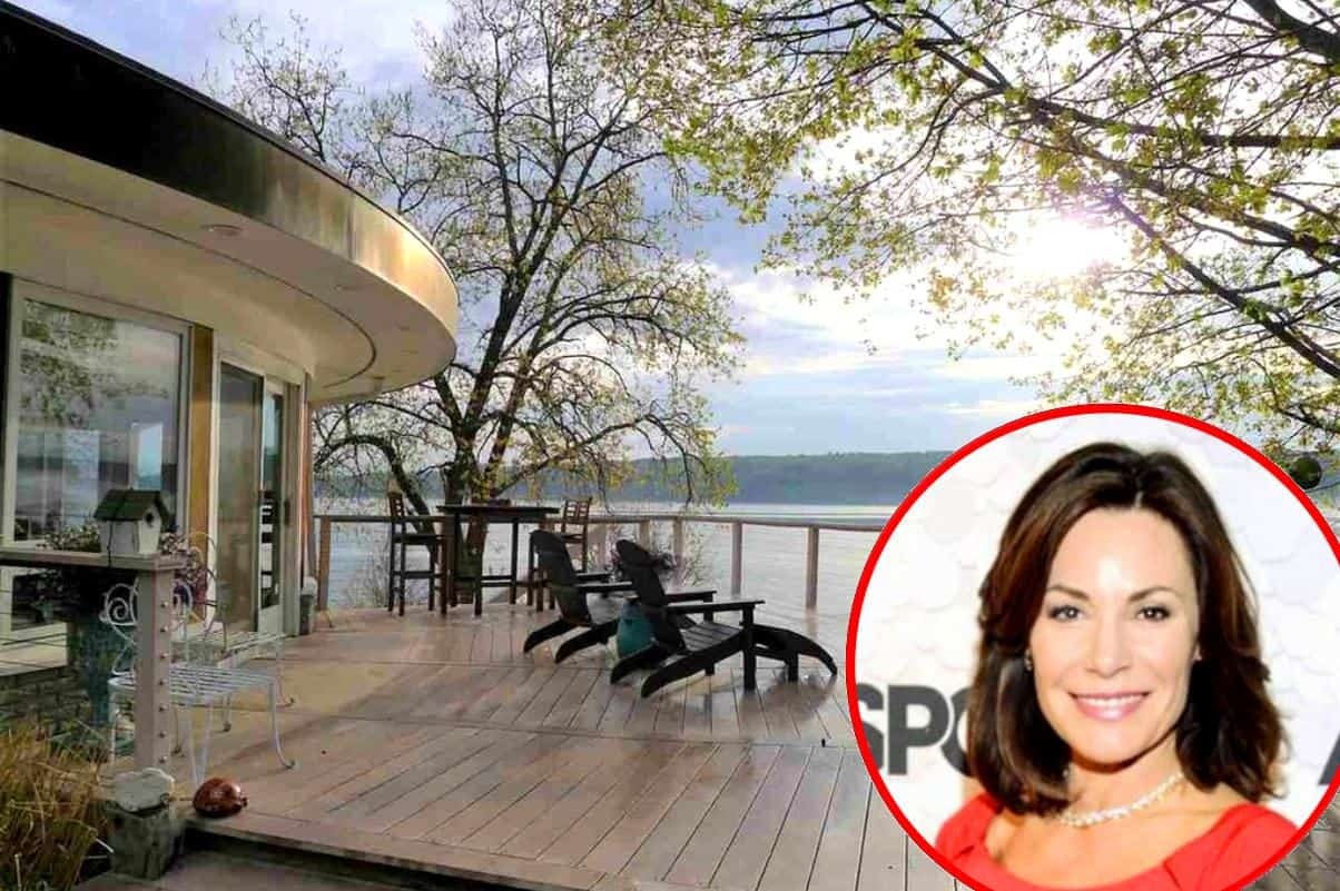 PHOTOS: RHONY's LuAnn de Lesseps Drops $1 Million On Waterfront Home in Upstate New York, See the Pics!