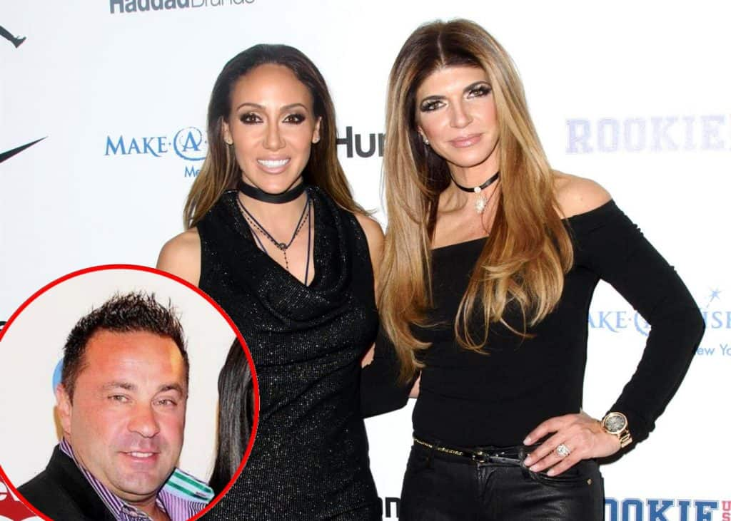 RHONJ Melissa Gorga and Teresa Giudice talk Joe Giudice Deportation
