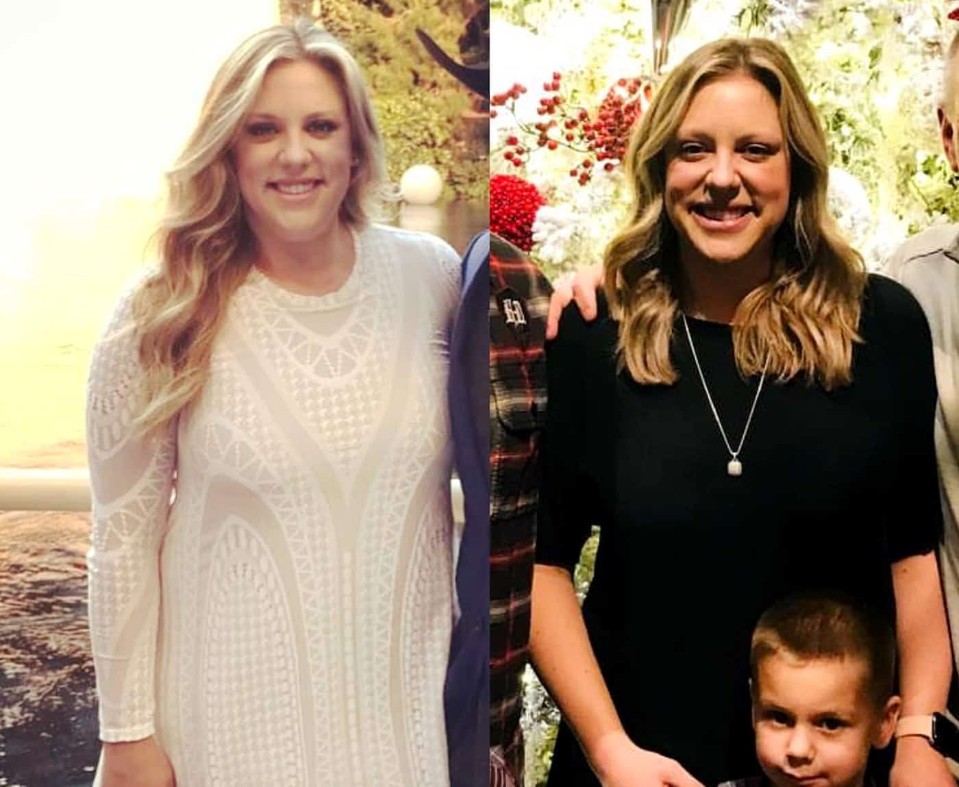 RHOC Briana Culberson Before and After Weight Loss Photos