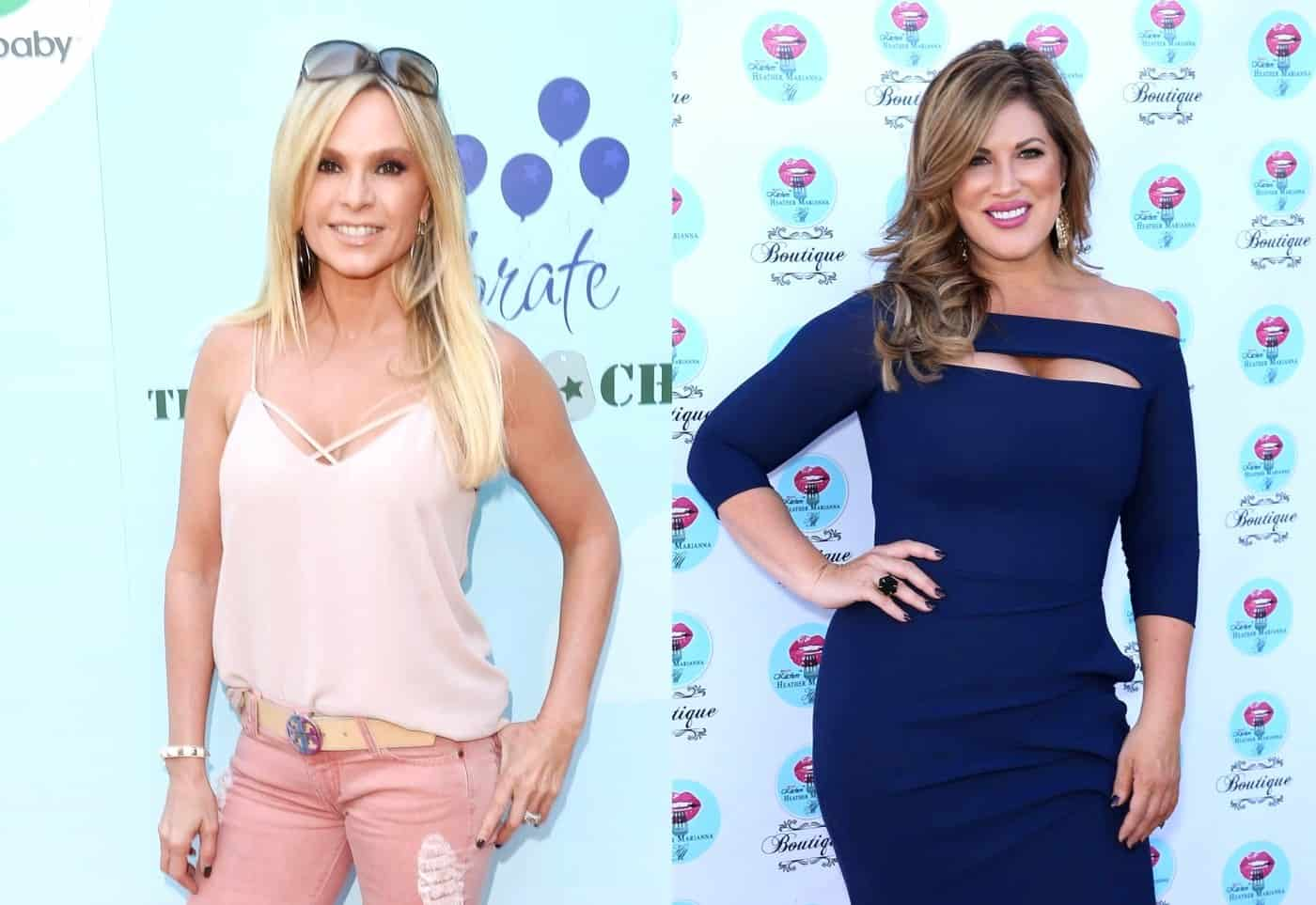 RHOC's Tamra Judge Shades Emily Simpson Over Hip Surgery, Emily Claps Back at Her Bikini Pics and Fires Back at Vicki's Claims That She 'Drank Kelly's Koolaid'