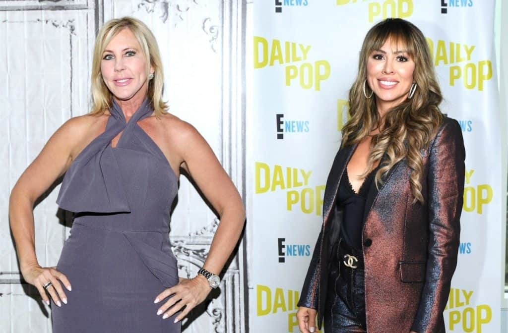 "Vicki Gunvalson Accuses Kelly Dodd of Staging 'Fake Stories' on RHOC, Slams Her as ""Angry"" and ""Volatile,"" See Her Epic Clap Back Plus Tamra Speaks"