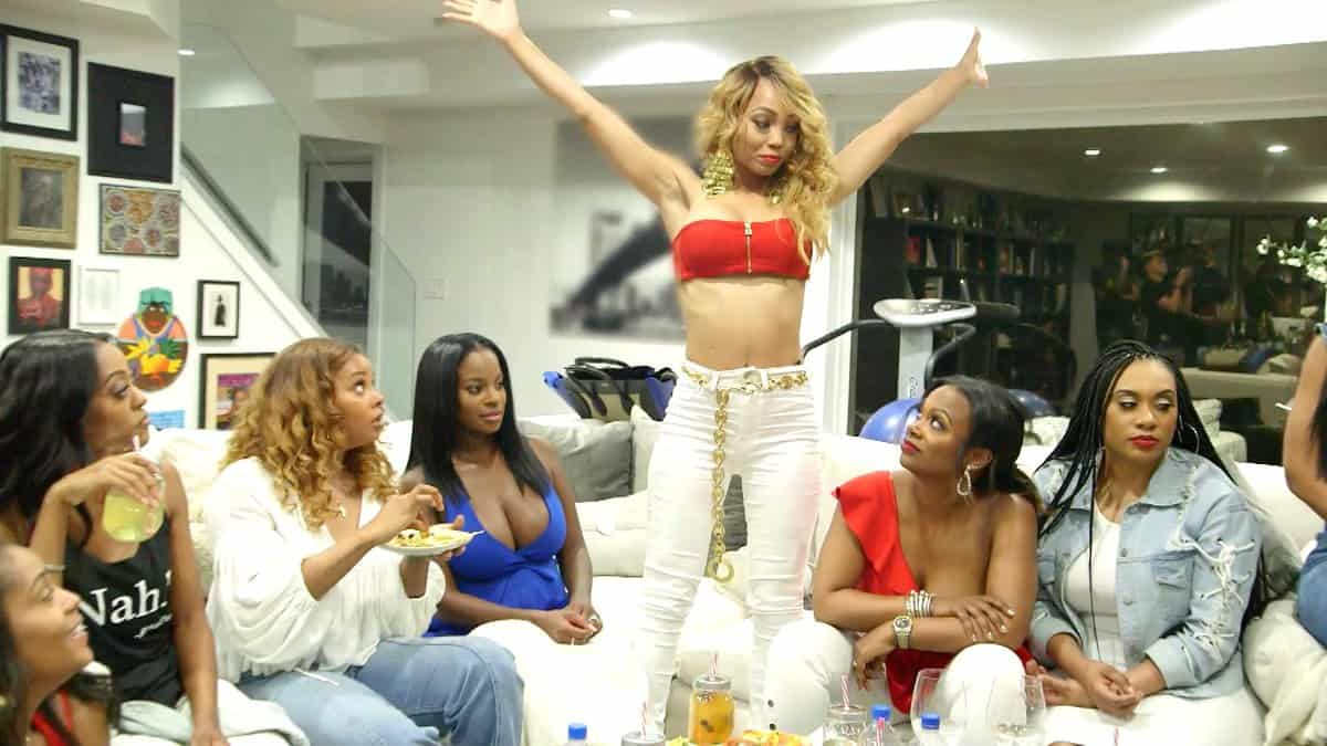 Real Housewives of Atlanta Recap Pass the Peach and Throw the Shade - Shamari, Kandi, Shamea, Eva