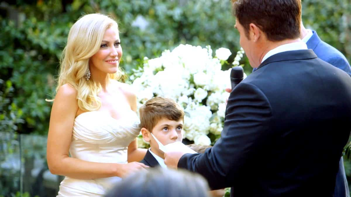 Real Housewives of Dallas Travis and Stephanie Hollman Renew Vows