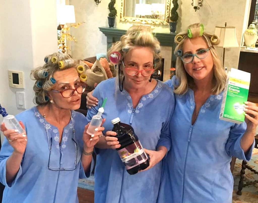 Real Housewives of Orange County Recap The Tres Abuelas - Tamra, Shannon and Vicki